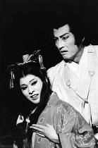 MACBETH   by Shakespeare   set design: Kappa Senoh   costumes: Jusaburo Tsujimura   lighting: Sumio Yoshii   director: Yukio Ninagawa Komaki Kurihara (Lady Macbeth), Masane Tsukayama (Macbeth)  ** Lo-...