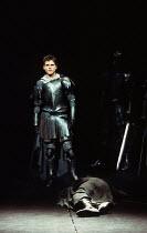 MACBETH by Shakespeare  design: Ian MacNeil  lighting: Alan Burrett  fights arranger: Malcolm Ranson  director: Adrian Noble  closing speech: Jason Durr (Malcolm) with the body of MacbethRoyal Shakesp...