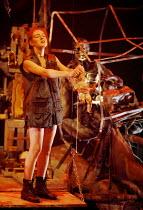 MACBETH by Shakespeare  design: Ruari Murchison  lighting: Tim Mitchell  choreographer: Pat Garrett  fights director: Richard Ryan  director: Bill Alexander  Katherine Oliver (3rd witch)Birmingham Rep...