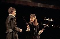 MACBETH by Shakespeare  set design: Franziska Wilcken  costumes: Heather Leat  lighting: Ben Ormerod  director: Stephen Unwin Paul Higgins (Macbeth), Hilary Lyon (Lady Macbeth)English Touring Theatre,...