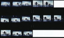 THE MERCHANT OF VENICE by Shakespeare  costumes: Dunya Ramicova  lighting: James F Ingalls  director: Peter Sellars   Goodman Theatre, Chicago  Barbican Theatre, London EC2  16/11/1994...
