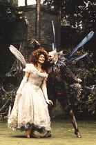 A MIDSUMMER NIGHT'S DREAM by Shakespeare  design: Paul Farnsworth  lighting: Jason Taylor  director: Ian Talbot   Louise Gold (Titania), Bill Homewood (Oberon)  New Shakespeare Company, Open Air Th...