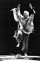 KING LEAR by Shakespeare  design: Chris Dyer  lighting: Robert A Jones  director: Cicely Berry  Richard Haddon Haines (Lear)Royal Shakespeare Company (RSC), Almeida Theatre, London N1  15/09/1989...