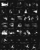 ROMEO AND JULIET by Shakespeare  design: Farrah lighting: John Bradley  director: Terry Hands Timothy Dalton (Romeo), Estelle Kohler (Juliet) Royal Shakespeare Company (RSC), Royal Shakespeare Theatre...