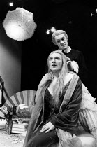 THE MAIDS  by Jean Genet  design: Ultz  directors: Gerard Murphy & David Ultz   Gerard Murphy (Solange), Miles Anderson (Claire)  * Lo-res scan for reference only. Hi-res of this and other images avai...