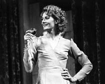DESIGN FOR LIVING  by Noel Coward  design: Michael Annals  director: John Gielgud <br> ~Vanessa Redgrave (Gilda) ~Phoenix Theatre, London WC2  21/11/1973     ~(c) Donald Cooper/Photostage   photos@pho...