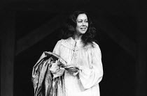 ARDEN OF FAVERSHAM   by Anonymous   design: Kandis Cook   director: Terry Hands Jenny Agutter (Alice) Royal Shakespeare Company (RSC), The Other Place, Stratford-upon-Avon, England   30/03/1982(c) Don...