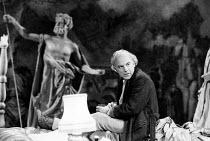 THE ARCHBISHOP'S CEILING  by Arthur Miller  design: Fotini Dimou  director: Nick Hamm ~~John Shrapnel (Sigmund) ~Royal Shakespeare Company (RSC), The Pit, Barbican Centre, London EC2  29/10/1986...