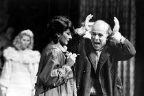 THE ARCHBISHOP'S CEILING  by Arthur Miller  design: Fotini Dimou  director: Nick Hamm ~~(rear) Stella Gonet (Irina), Jane Lapotaire (Maya), John Shrapnel (Sigmund) ~Royal Shakespeare Company (RSC), Th...