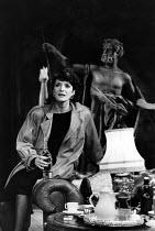 THE ARCHBISHOP'S CEILING  by Arthur Miller  design: Fotini Dimou  director: Nick Hamm ~~Jane Lapotaire (Maya) ~Royal Shakespeare Company (RSC), The Pit, Barbican Centre, London EC2  29/10/1986...