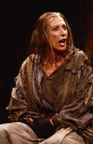 THE WITCH OF EDMONTON  by Dekker, Ford & Rowley  design: Chris Dyer  lighting: Leo Leibovici  director: Barry Kyle Miriam Karlin (Elizabeth Sawyer) Royal Shakespeare Company (RSC), The Other Place, St...