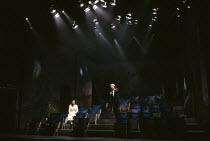 TANGO AT THE END OF WINTER  by Kunio Shimizu  adapted by Peter Barnes  set design: Setsu Asakura  costumes: Lily Komine  lighting: Sumio Yoshii  director:  Yukio Ninagawa ~~Beatie Edney, Alan Rickman...