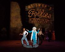 Geraldine Fitzgerald (Solange Lafitte) in Stephen Sondheim's FOLLIES opening at the Olivier Theatre, National Theatre, London SE1 on 06/09/2017   music & lyrics by Stephen Sondheim book: James Goldma...