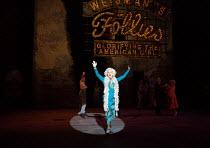 Geraldine Fitzgerald (Solange Lafitte) in Stephen Sondheim's FOLLIES opening at the Olivier Theatre, National Theatre, London SE1 on 06/09/2017   music & lyrics by Stephen Sondheim book: James Goldman...
