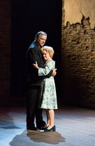 Philip Quast (Benjamin Stone), Imelda Staunton (Sally Durant Plummer) in Stephen Sondheim's FOLLIES opening at the Olivier Theatre, National Theatre, London SE1 on 06/09/2017   music & lyrics by Steph...