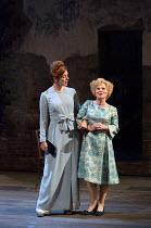 l-r: Janie Dee (Phyllis Rogers Stone), Imelda Staunton (Sally Durant Plummer) in Stephen Sondheim's FOLLIES opening at the Olivier Theatre, National Theatre, London SE1 on 06/09/2017   music & lyrics...
