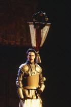 HENRY VI parts i, ii & iii  by Shakespeare  design: Rae Smith  lighting: Tina McHugh  movement: Paul Allain  fights: Malcolm Ranson  director: Katie Mitchell Lloyd Owen (Edward IV)Royal Shakespeare Co...