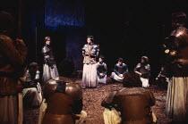 HENRY VI parts i, ii & iii  by Shakespeare  design: Rae Smith  lighting: Tina McHugh  movement: Paul Allain  fights: Malcolm Ranson  director: Katie Mitchell centre: Lloyd Owen (Edward IV)Royal Shakes...