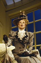 THE IMPORTANCE OF BEING EARNEST by Oscar Wilde  design: Bob Crowley  lighting: Paul Pyant  director: Nicholas Hytner ~~Maggie Smith (Lady Bracknell) ~Aldwych Theatre, London WC2  09/03/1993~(c) Donald...