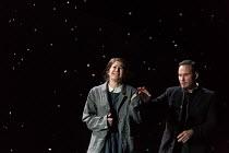 Nicole Car (Mimi), Mariusz Kwiecien (Marcello) in LA BOHEME by Puccini opening at The Royal Opera, London WC2 on 11/09/2017   conductor: Antonio Pappano  design: Stewart Laing  lighting: Mimi Jordan S...
