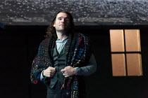 Act 3: Michael Fabiano (Rodolfo) in LA BOHEME by Puccini opening at The Royal Opera, London WC2 on 11/09/2017   conductor: Antonio Pappano  design: Stewart Laing  lighting: Mimi Jordan Sherin  movemen...
