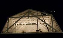 Act 4, the garret: LA BOHEME by Puccini opening at The Royal Opera, London WC2 on 11/09/2017   conductor: Antonio Pappano  design: Stewart Laing  lighting: Mimi Jordan Sherin  movement: Sarah Fahie  d...