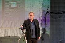 Gijs Scholten van Aschat (Hendrik Vogler) in AFTER THE REHEARSAL by Ingmar Bergman opening at the Barbican Theatre, Barbican Centre, London EC2 on 27/09/2017   Toneelgroep, Amsterdam  set design: Jan...