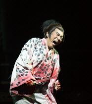 Masachika Ichimura (Macbeth) in MACBETH by Shakespeare opening at the Barbican Theatre, London EC2 on 05/10/2017 Ninagawa Theatre Company, Tokyo, Japan  set design: Kappa Senoh costumes: Jusaburo Tsuj...