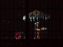 a Witch in MACBETH by Shakespeare opening at the Barbican Theatre, London EC2 on 05/10/2017 Ninagawa Theatre Company, Tokyo, Japan  set design: Kappa Senoh costumes: Jusaburo Tsujimura lighting: Sumio...