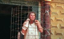 THE WINTER'S TALE by Shakespeare design: Tom Phillips director: David Freeman Belinda Davison (Hermione) Shakespeare's Globe (SG), London SE1   06/1997                 (c) Donald Cooper/Photostage   p...