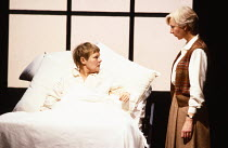 OTHER PLACES  by Harold Pinter:  A KIND OF ALASKA  design & lighting: John Bury  director: Peter Hall <br>  l-r: Judi Dench (Deborah), Anna Massey (Pauline) Cottesloe Theatre, National Theatre (NT),...
