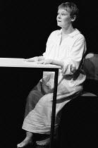 OTHER PLACES  by Harold Pinter: A KIND OF ALASKA  design & lighting: John Bury  director: Peter Hall <br> ~Judi Dench (Deborah) ~Cottesloe Theatre, National Theatre (NT), London SE1  13/10/1982~(c) Do...