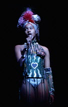 Marsha Hunt (Bianca) in CATCH MY SOUL - The Rock Othello  after Shakespeare  devised by Jack Good  music: Ray Pohlman & Emil Dean Zoghby  design: Malcolm Pride  lighting: John B. Read  choreography: F...
