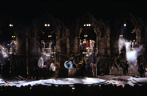 THE YORK MYSTERY PLAYS  adapted by Andrew Wickes  design: Tim Reed  lighting: Davy Cunningham  director: Steven Pimlott  atmospheric interior sceneYork Minster, York, England  16/06/1988  (c) Donald C...