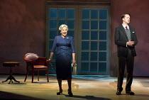 Lesley Garrett (Mrs Rutland), Daniel Okulitch (Mark Rutland) in MARNIE opening at English National Opera (ENO), London Coliseum, WC2 on 18/11/2017     after the novel by Winston Graham  a co-commissio...