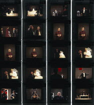 RICHARD III  by Shakespeare  design: Tim Hatley  lighting: Paul Pyant  director: Sam Mendes   Simon Russell Beale (Richard III) Royal Shakespeare Company (RSC), The Other Place, Stratford-upon-Avon, E...