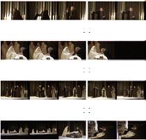 RICHARD III  by Shakespeare  design: Rob Howell  lighting: Peter Mumford  fights: William Hobbs  director: Elijah Moshinsky   Robert Lindsay (Richard III) Royal Shakespeare Theatre, Royal Shakespeare...