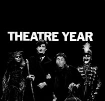 THEATRE YEAR 1981, first published in November 1981. ISBN 0950757810. Paperback, 9'x9' / 23cm x 23cm, 132pp. Containing 199 B&W photographs by Donald Cooper of 113 theatre productions in London and St...