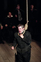 THE SPANISH TRAGEDY  by Thomas Kyd  design: Tom Piper  lighting: Robert Bryan  director: Michael Boyd   Peter Wight (Hieronimo)  Royal Shakespeare Company (RSC), Swan Theatre, Stratford-upon-Avon, Eng...