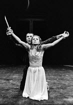 THE MAID'S TRAGEDY by Beaumont & Fletcher design: Judith Bland lighting: Leo Leibovici director: Barry Kyle  Tom Wilkinson (Melantius), Sinead Cusack (Evadne) * Lo-res scan for reference only. Hi-res...