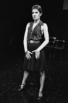 EAST written & directed by Steven Berkoff lighting: John Gorringe ~Anna Nygh (Sylv)London Theatre Group / Regent Theatre, London W1 08/1977(c) Donald Cooper/Photostage photos@photostage.co.uk ref/BW-2...