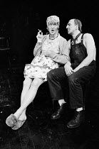 EAST written & directed by Steven Berkoff lighting: John Gorringe ~Trevor Jones (Mum), Matthew Scurfield (Dad) London Theatre Group / Regent Theatre, London W1 08/1977(c) Donald Cooper/Photostage phot...