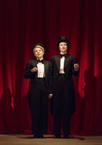 TIPPING THE VELVET by Sarah Waters adapted for the stage by Laura Wade design: Lizzie Clachan lighting: Jon Clark choreography: Alistair David director: Lyndsey Turner  l-r: Sally Messham (Nancy), La...