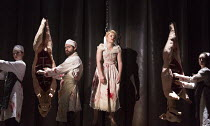TIPPING THE VELVET by Sarah Waters adapted for the stage by Laura Wade design: Lizzie Clachan lighting: Jon Clark choreography: Alistair David director: Lyndsey Turner  fantasy scene in Smithfield Ma...