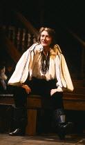 THE NEW INN by Ben Jonson design: Sue Blane lighting: Wayne Dowdeswell director: John Caird ~John Carlisle (Lovel) Royal Shakespeare Company (RSC), Swan Theatre, Stratford-upon-Avon, England 10/11/198...