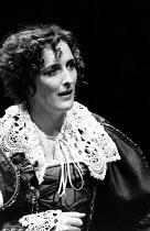 THE NEW INN by Ben Jonson design: Sue Blane lighting: Wayne Dowdeswell director: John Caird ~Fiona Shaw (Lady Frampul) Royal Shakespeare Company (RSC), Swan Theatre, Stratford-upon-Avon, England 10/11...