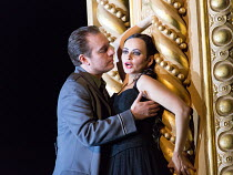 Francesco Meli (Don Jose), Anna Goryachova (Carmen) in CARMEN  by Bizet opening at The Royal Opera, Covent Garden, London WC2 on 06/02/2018 ~ ~in the critical edition by Michael Rot  adapted by Consta...