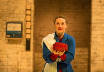Sarah Ridgeway (Melesinda) in THE CAPTIVE QUEEN opening at the Sam Wanamaker Playhouse, Shakespeare's Globe, London SE1 on 07/02/2018  a re-imagining of 'Aureng-zebe' by John Dryden a co-production wi...