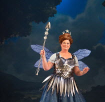 Yvonne Howard (Queen of the Fairies) in IOLANTHE by Gilbert & Sullivan opening at English National Opera (ENO), London Coliseum WC2 on 13/02/2018    music: Arthur Sullivan)  libretto: William Gilbert...