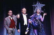 ZIEGFELD conceived, choreographed & directed by Joe Layton score: Michael Reed book: Ned Sherrin & Alistair Beaton set design: Robin Don costumes: Theoni V Aldredge  l-r: Geoffrey Hutchings (Writer /...